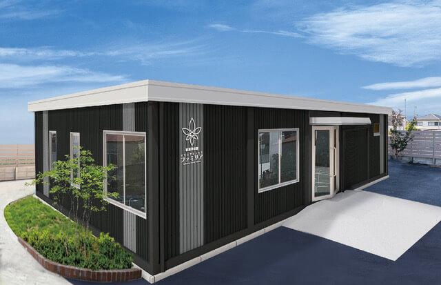 新商品「ローコスト耐久性のユニットハウス」